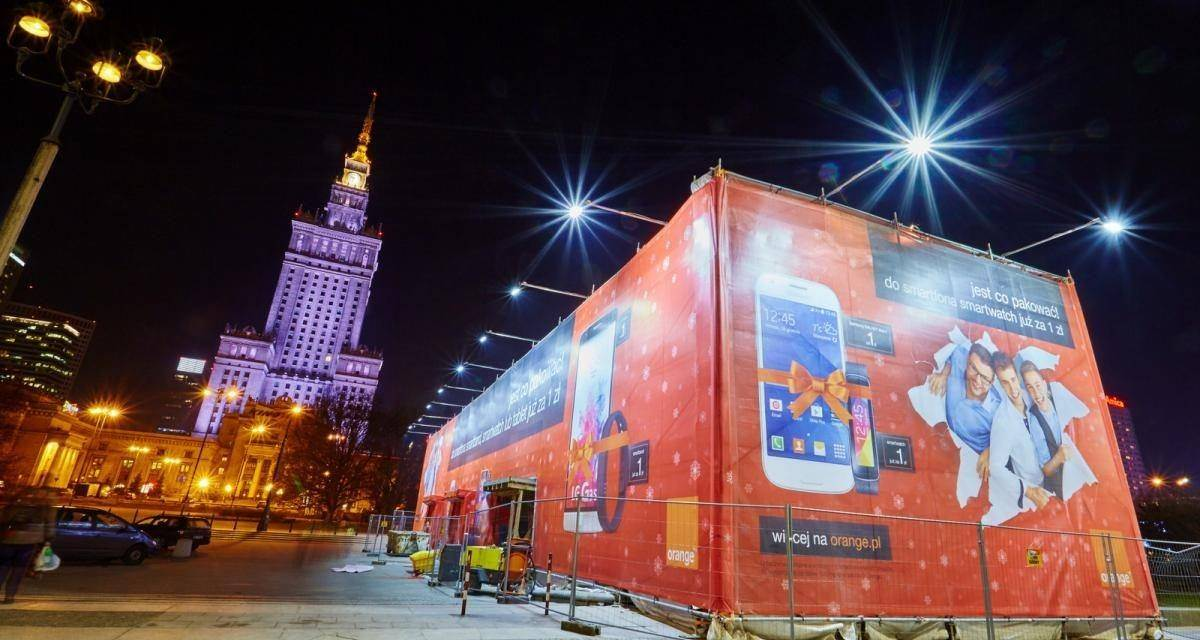 Orange: Największy prezent w Warszawie